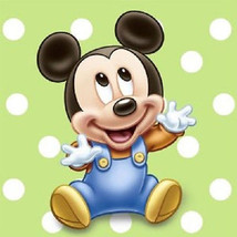 Mickey 1st Birthday Party Disney Beverage Napkins Disney Green - $4.99