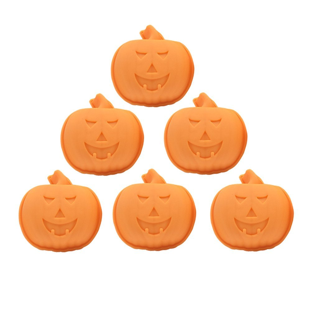 6pcs happy halloween silicone pumpkin cake mold kitchen bake tools new arrival dropshipping