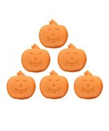 6Pcs Happy Halloween Silicone Pumpkin Cake Mold Kitchen Bake Tools New A... - £7.65 GBP