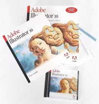 Adobe illustrator 10 for Windows - Academic ID Required, Education Version - $88.97