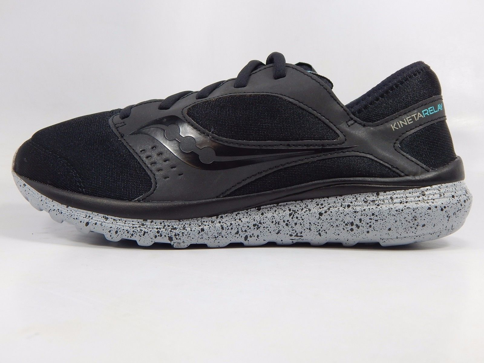 Saucony Kineta Relay LR Men's Running Shoes Sz US 9 M (D) EU 42.5 Black S25285-1