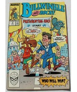 Bullwinkle And Rocky Vol. 1 No. 4 Marvel Comics May 1988 Direct Edition - $4.95