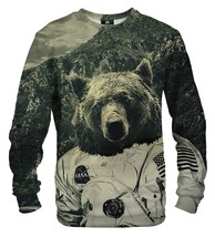 NASA Bear Cotton Printed Sweatshirt | Unisex | XS-2XL | Mr.Gugu & Miss Go