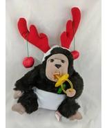 "Russ Bungo Monkey Ape Plush Baby Diaper Pacifier 14"" Caress Soft Pets St... - $22.45"