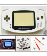 Nintendo Game Boy Advance GBA Front Light Frontlight AGS-001 Mod Kit White - $29.13