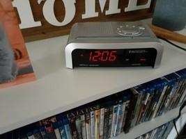 Emerson Research SmartSet Dual Auto Setting AM/FM Radio Alarm Clock # CK... - $12.87