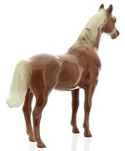 "Hagen-Renaker Miniature Ceramic Horse Figurine Thoroughbred ""Silky Sullivan"" image 4"