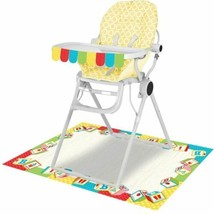 ABC 1st Birthday Party 2 pc High Chair Decorating kit - $4.99