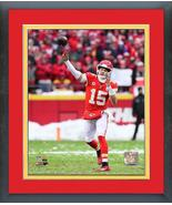 Patrick Mahomes 2018 AFC Divisional Playoff Game #15-11x14 Matted/Framed... - $43.55