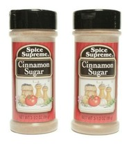2 Spice Supreme® Cinnamon Sugar Fresh USA MADE Spices Cooking Grill - $10.21