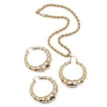 Ethlyn Nigerian/African/Dubai Gold Color Jewelry Sets for Women Earrings... - $28.16