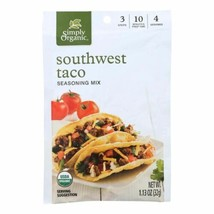 Simply Organic Mild Taco Seasoning Mix - Case Of 12 - 1.13 Oz. - 45147753 - $27.97
