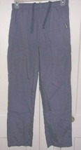 Landau Womens Small Embroidered Zipper Front 7 Pocket Cargo Pants - $17.96