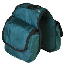 "7.5'X7.5"" Hilason Western Tack Horse Horn Bag Hunter Green Pockets U-41HG - $22.72"
