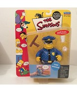 The Simpsons - 2000 - Playmates - Series 2 - Chief Wiggum Action Figure ... - $45.05