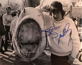 """Steven Spielberg Signed Autographed """"Jaws"""" Glossy 8x10 Photo - COA Holog... - $199.99"""