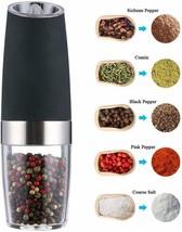 Gravity Electric Pepper Grinder or Salt Grinder Mill Adjustable Coarsene... - £17.03 GBP