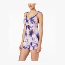 Linea Donatella Bellina Printed Cami and Shorts Pajama Set, Large - $24.74