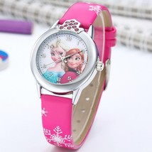 Watch Girls Princess Kids watch Leather Cartoon Kids Girl - $5.05+
