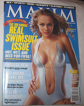 Maxim Magazine For Men Feburary 2002 # 50 Swimsuit Issue U.S.A - $9.92