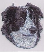 "2 1/4"" x 2 3/8"" Australian Shepherd Dog Breed Embroidery Patch - $5.90"