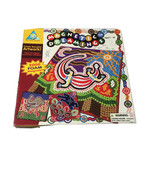 Magnetic Dreamings Art Foam Magnet Mosaics Created Aboriginal Abstract A... - $19.75