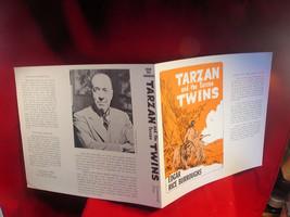 Edgar Rice Burroughs TARZAN AND THE TARZAN TWINS original dust jacket, fine - $44.10