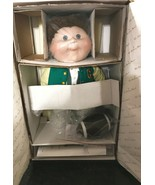 Cabbage Patch Kids Bobby Joe Doll Danbury Mint Porcelain Collection New ... - $67.32