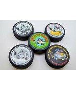 ECHL ICE PILOTS HOCKEY PUCKS 1997-1998 COLLECTION 5 PUCK VARIATIONS W/ 2... - $29.99
