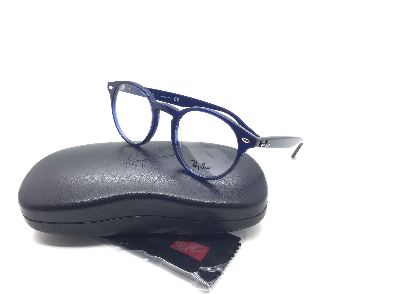 d9bc409ef65 Ray Ban Blau RB 2180 V 2013 49 mm Designer Demo Brillengläser Brille -  £60.26 GBP