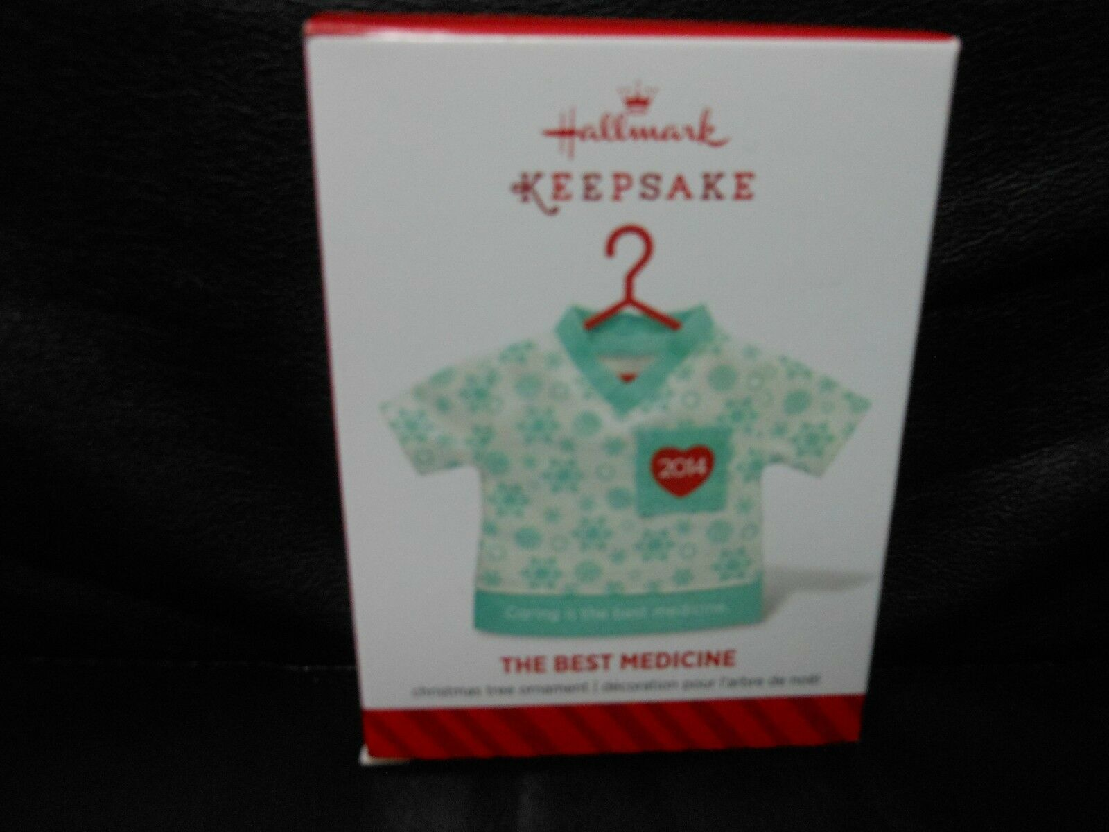 "Hallmark Keepsake ""The Best Medicine"" 2014 Fabric Ornament NEW"
