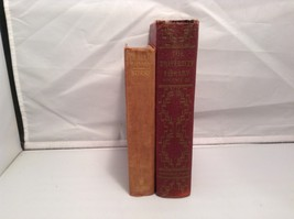 Antique Harcover Book Set of 2