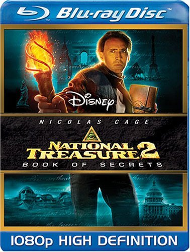 Disney National Treasure 2 : Book of Secrets (Blu-ray Disc, 2008)