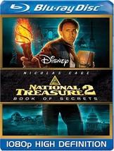 Disney National Treasure 2 : Book of Secrets (Blu-ray Disc, 2008)