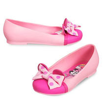 Disney Store Minnie Mouse Flat Jelly Shoes Size 12 Toddler/Child - $14.99+