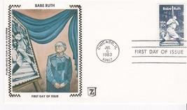 BABE RUTH #2046 CHICAGO, IL JULY 6, 1983 Z SILK CACHET D-11 - ₹228.14 INR
