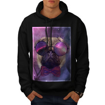 Cosmic Glasses Pug Sweatshirt Hoody Space Dream Men Hoodie - $20.99+