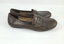 Born loafers brown leather womens 7 38 - $28.04