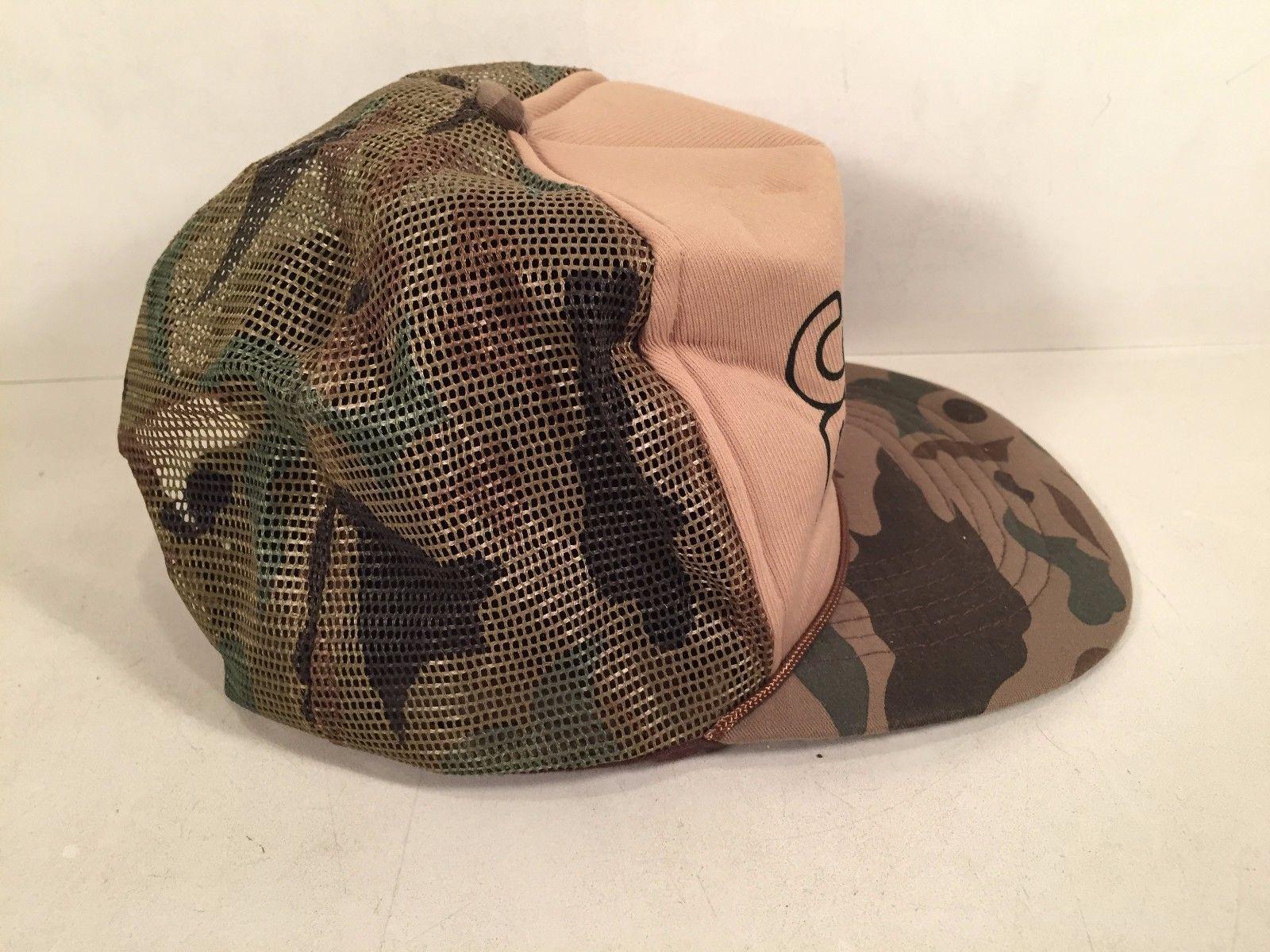 CACTUS PETE'S TRUCKER'S CAMO HAT BASEBALL CAP