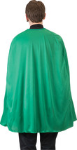 "CAPE COSTUME GREEN SUPER HERO 36"" NYLON TAFFETA - $9.99"