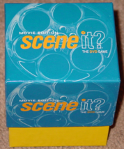 SCENE IT DVD GAME MOVIE EDITION GAME 2004 SCREENLIFE LIGHTLY PLAYED CONDITION image 9
