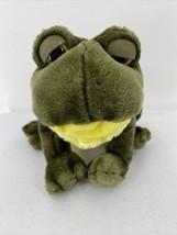 RBI Ron Banafato Frog Plush Hand Puppet Stuffed Animal. Makes Noise (Cro... - $9.49