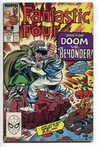Fantastic Four 319 1st Series Marvel 1988 VG Dr. Doom Secret Wars 3 Silv... - $3.17