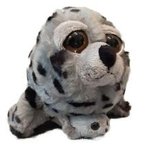 "Petting Zoo Harbor Seal Mom and Baby 10"" Plush Bright Eyes Pocketz Series - $19.75"