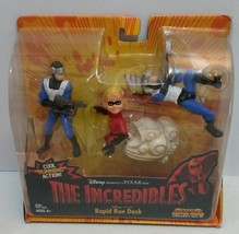 2003 The Incredible - Rapid Run Dash Action Figures - Cool Running Action - $27.73