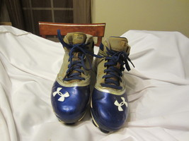 Mens Under Armour Hightop Baseball/Softball Cleats Size: 8.5   - $14.00