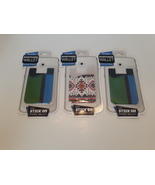 Silicone Smartphone Wallet lot of 3 Android I Phone Stick on New in Package - $12.99
