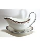 Wedgwood Medici Gravy Boat Bowl & Underplate R4588 - $98.98
