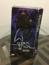 "Nib 1999 Playmates Star Trek DS9 Captain Benjamin Sisko 12"" Action Figure - $29.69"
