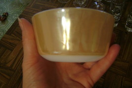 "Fire King Peach Lustre 3.75"" 6 oz  Custard Cup by Anchor Hocking - $12.98"